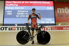 BBC Sport @BBCSport Australian Rohan Dennis has set a new world record by cycling 52.491km in one hour bbc.in/16XhSDW pic.twitter.com/db3o5wqJJw