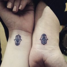 Tiny Best Friend Tattoos | POPSUGAR Love & Sex