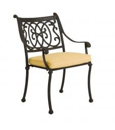 Roma Dining Arm Chair - Stackable