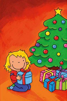 Uitgeverij Abimo - Nieuwjaarsbrieven 2015 Christmas Activities For Kids, Preschool Christmas, Kids Christmas, Merry Christmas, Santa's Little Helper, Advent, Art Plastique, Painted Rocks, Images