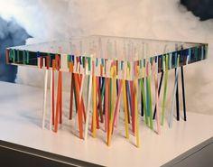 Acrylic Furniture by Emmanuelle Moureaux