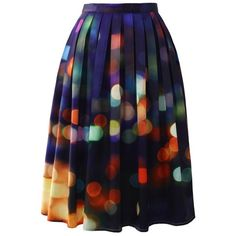 Chicwish Chicwish Neon Light Pleated Midi Skirt ($45) ❤ liked on Polyvore featuring skirts, bottoms, saias, midi skirt, blue, neon pleated skirt, blue midi skirts, mid-calf skirt and cocktail skirt