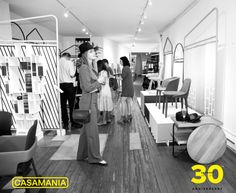 Some photos from the 30th anniversary retrospect with many of the iconic Casamania products.