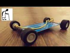 """A while back Riley Elwood commented """"i want to see you make the smallest rubber band car ever"""". I doubt that I can make the smallest ever, but I could try to."""