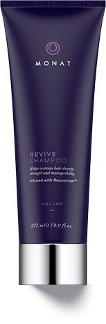 A gentle volumizing cleanser for fine, limp and lifeless hair that penetrates and nurtures the scalp while helping boost natural hair growth and improve follicle strength to reduce hair thinning. Delivers weightless body to fine, flat hair. Gives hair a touchably so and youthful look. Safe to use on colored or chemically treated hair and extensions. http://tracine.mymonat.com