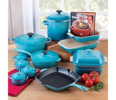 Shop Le Creuset Cookware Set , 20 Piece at CHEFS. Green would be a better Color for me -Jenn