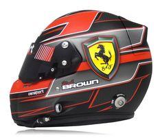 Censport Graphics   Kirk Brown Grilli Helmet