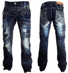 Herren JEANSHOSE JEANS PANTS PANTALON JAPRAG / KOSMO LUPO / CIPO BAXX | Vêtements, accessoires, Hommes: vêtements, Jeans | eBay! Patched Jeans, Denim Jeans Men, Jeans Pants, Fashion Pants, Mens Fashion, Outfit Man, Jeans Outlet, Hollywood Men, Riding Pants