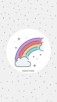 Rainbow Rainbow Highlights, Story Highlights, Cute Lockscreens, Gif Instagram, Instagram Challenge, Insta Icon, Creative Instagram Stories, Instagram Story Template, Instagram Highlight Icons