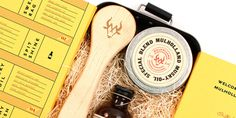 Student Spotlight: Mullholland Four Piece Leather Survival Kit  - The Dieline -