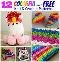 free knit and crochet patterns