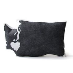 Washington Pillow Charcoal, $48, now featured on Fab.