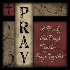 Family That Prays Together Stays Sign Inspirational Primitive Rustic Home Decor   eBay