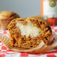 Pumpkin Cream Cheese Muffin