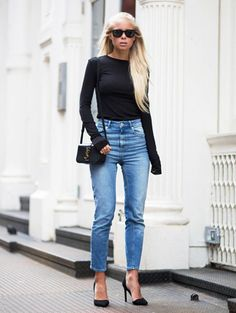 How to style: 3 x mom jeans