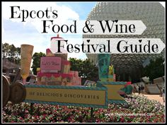 Epcot Food and Wine Festival Guide from themouseforless.com #DisneyVacation #FoodandWine