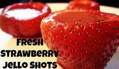 Strawberry Jello Shots Like You Won't Believe!