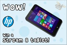 Bargainmoose Contest: Win a Stream 8 Tablet & Case From HP (Again!)! Photo @bargainmoose