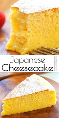 Sweet Desserts, Delicious Desserts, Dessert Recipes, Japanese Cheesecake Recipes, Best Sweets, Ice Cream Recipes, Dessert Bars, No Cook Meals, Yummy Treats