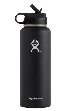Hydroflask 40oz Wide Mouth Insulated Bottle W/ Straw