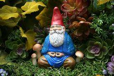Zen Gnome  Buddha Gnome Meditating in the van PhenomeGNOME op Etsy, $59.99