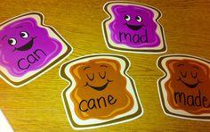 Frugal in First: Whole Brain Teaching - teaching silent e. Cute activity
