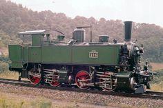 Lok der Serie Ed der Schweizerischen Centralbahn Swiss Railways, Railway Museum, Old Trains, Train Car, Steam Engine, Steam Locomotive, Model Trains, Engineering, Bus