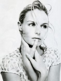 kate bosworth, black and white #editorial #beauty