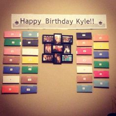 Happy Birthday Letters To Kyle From All His Friends And Family Best Homemade Gift In