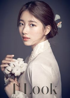 miss A Suzy in hanbok for Carin Spring 2016 Ad Campaign in 1st Look Vol. 101