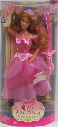 Barbie 12 Dancing Princessess Fallon Doll