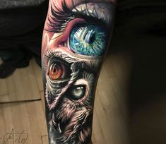 Eyes tattoo by Arlo Tattoos | Post 21206