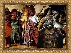 Cane Corso Fine Art Canvas Print by Nobility Dogs. #cane #corso #italian #mastiff #Roman #warrior #dogs #art