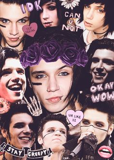 fab collages, requested: andy sixx