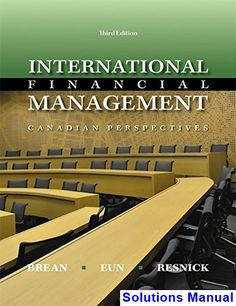 Fundamentals of financial accounting 5th edition solution manual by international financial management canadian canadian 3rd edition brean solutions manual test bank solutions manual fandeluxe Gallery