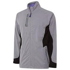 Adidas Golf 2015 Mens Climaproof Advance Rain Jacket - Mid Grey - L