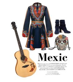 """""""Mexic"""" by byacrystal ❤ liked on Polyvore featuring Mary Frances Accessories, Gianvito Rossi and Mexic"""