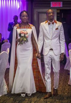 More                                                                                                                                                                                 More African Wedding Attire, African Attire, African Wear, African Women, African Dress, Couples African Outfits, Couple Outfits, African Fashion Dresses, African Traditional Wedding Dress