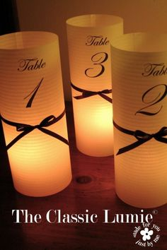 Vellum Luminaries -- I think this could be an easy DIY