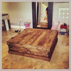 Truck Coffee Table / Storage Trunk by MAYHEMFURNITURECO on Etsy, $349.99