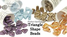 Comparing Triangle Shape Beads