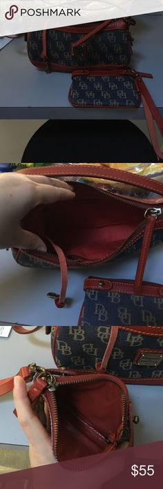 Dooney and Bourke with coin purse. Price is firm! Like brand new... Used a few times but in GREAT CONDITION.... No signs of use anywhere. Great for going out for for a teen! Dooney & Bourke Bags Mini Bags