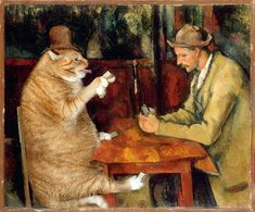 """The Cards Players"", Paul Cezanne, by Svetlana Petrova, Think You Know Old Masterworks? Look Again 