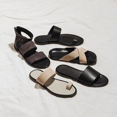 Woman by Common Projects getting us prepared for the warmer weather #sandals…