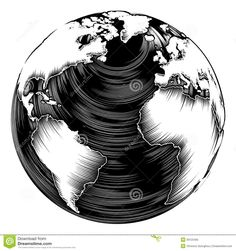 Image from http://thumbs.dreamstime.com/z/vintage-world-globe-illustration-retro-woodblock-style-39125493.jpg.