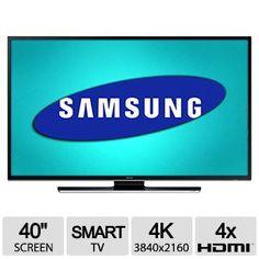 """Samsung UN40HU6950 40"""" Class 4K Smart LED UHD TV   897.99   SMART TV  CUATRO PANTALLAS EN  UNA"""