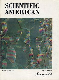 Scientific American, January 1954 Cover