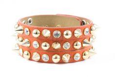 Bratara din piele Sparkle trio orange   Wo-Men.ro Cuff Bracelets, Sparkle, Orange, Jewelry, Women, Fashion, Moda, Jewlery, Jewerly