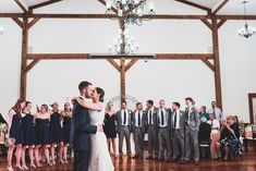 The Sealys | Rainy Navy and Pink Wedding at The Lodges at Gettysburg