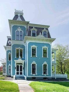 (French) Second Empire built in 1875 in Rhinebeck, NY.